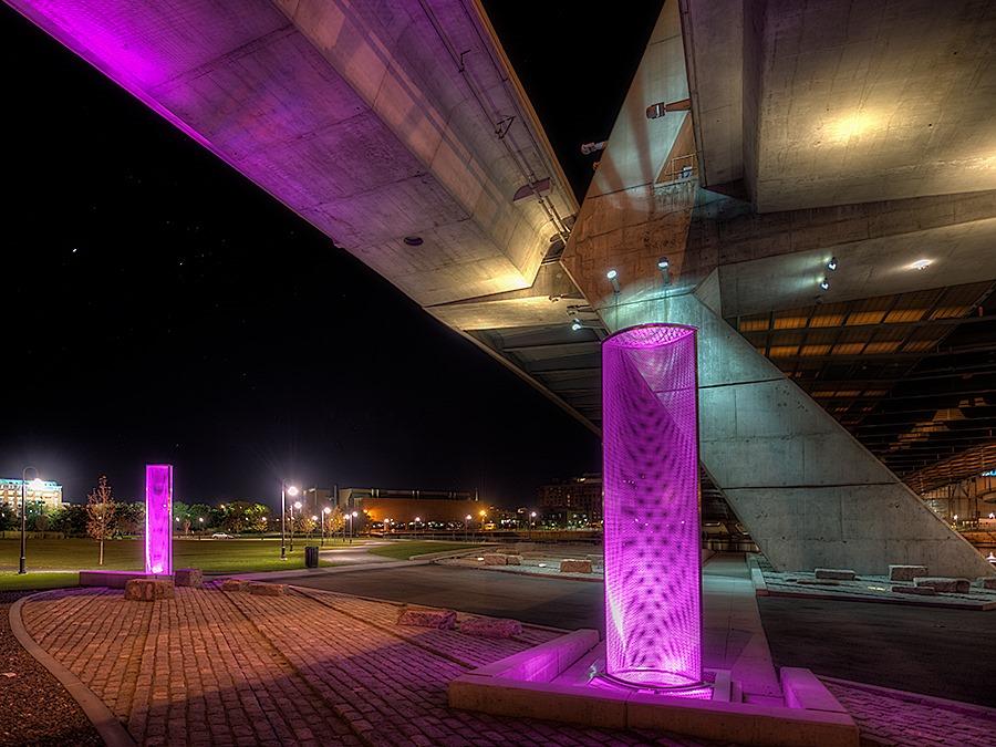 Leonard P Zakim Bunker Hill Bridge - Click to see High Resolution Image