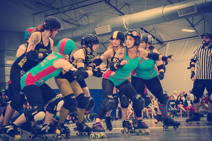 Roller Derby - Click to see me in hi def!